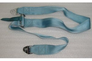 Aircraft Seat Belt Shoulder Harness Strap, Light Blue color