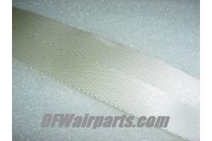 MIL-W-4088J, 8305-00-270-1866,Aircraft Seat Belt Webbing / White