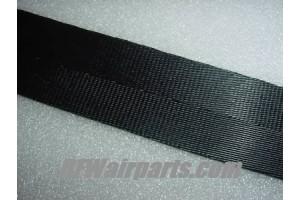 MIL-W-4088, MIL-W-4088-XVI, Aircraft Seat Belt Webbing / Black