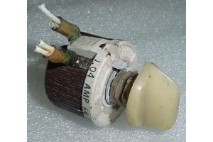 R-25, 64-12, Aircraft Instrument Panel Light Dimming Rheostat