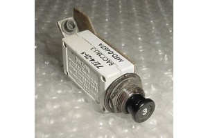 7274-21-3, 4001-002-3, 3A Slim Klixon Aircraft Circuit Breaker