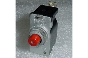 PSM-6, 43A8304-6, Klixon 6A PSM Series Aircraft Circuit Breaker