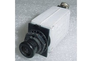7274-2-3, MS26574-3, Slim 3A Klixon Aircraft Circuit Breaker