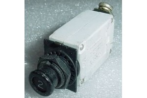 MS26574-2, 7274-2-2, 2A Slim Klixon Aircraft Circuit Breaker