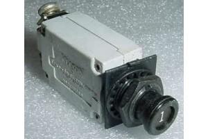 MS26574-1, 7274-2-1, 1A Slim Klixon Aircraft Circuit Breaker