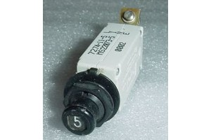 7274-11-5, MS22073-5, Slim 5A Klixon Aircraft Circuit Breaker