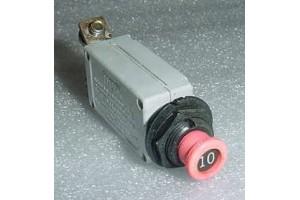 7274-36-10, 5925-01-125-5724, 10A Klixon Circuit Breaker