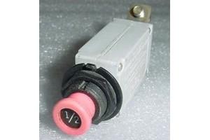 7274-36-1/2,  5925-01-125-4871, 1/2A Klixon Circuit Breaker