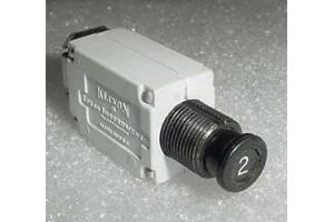 S2899-2, 7277-2-2, Slim 2A Klixon Aircraft Circuit Breaker
