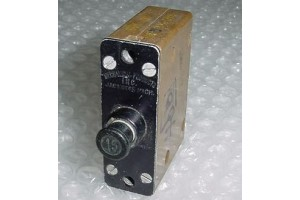 100-007-15, BACC18G15, Vintage Aircraft 15A Circuit Breaker