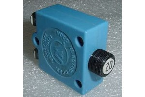 435-220-101, S1360-20, 20A Wood Electric Circuit Breaker