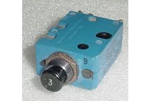 MP1505DC8, 1500-052-3, 3A Aircraft Circuit Breaker