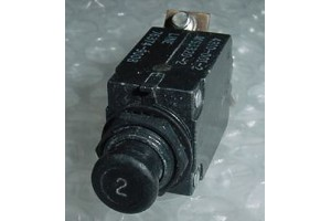 4310-001-2, MS3320-2, 2A Slim Aircraft Circuit Breaker