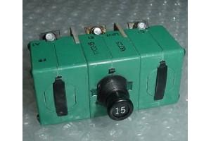 9TC2-15, EE373-15, Klixon 3 Phase 15A Aircraft Circuit Breaker