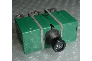 6TC2-7, MS14154-7, Klixon 3 Phase 7.5A Aircraft Circuit Breaker