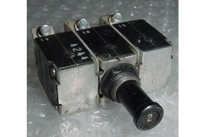 MS14154-2L, 4330-007-2, 2A Aircraft Circuit Breaker