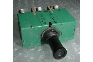 6TC37-2, MS14154-2, Klixon 3 Phase 2A Aircraft Circuit Breaker