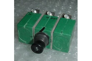 6TC2-5, MS14154-5, Klixon 3 Phase 5A Aircraft Circuit Breaker