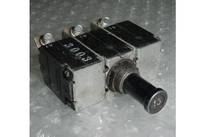 MS14154-15L, 4330-007-15, 15A Aircraft Circuit Breaker