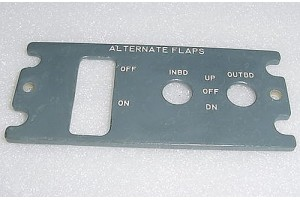 10-60725-1115, 1060725-1115, Boeing EL Light Plate Panel