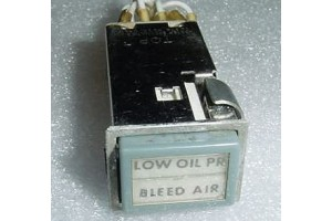 90EA1C2, Aircraft Instrument Panel Annunciator Light Switch