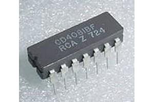 51016-0013, CD4081BF, Aircraft Avionics Microchip, IC Chip