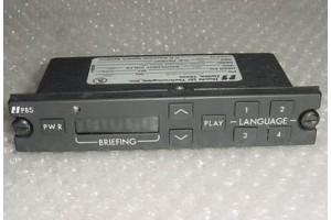 PBS400-2-B28, Aircraft Briefer Controller Control Head
