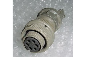 AN3106A-14S-6S, New Bendix Aircraft Cannon Plug Connector