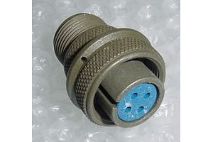 MS3106A14S-2S, New Amphenol Aircraft Cannon Plug Connector