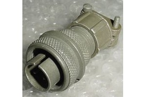 MS3106A-12S-3P, 5935-00-825-9767, Amphenol Cannon Plug Connector