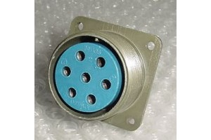 MS3102A-24-10S, New Amphenol Cannon Plug Connector Receptacle