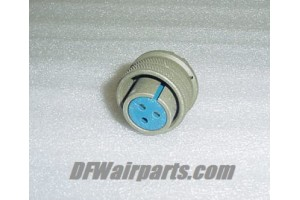 MS3106A16-10S, AN3106A16-10S, Amphenol Avionics Connector Plug