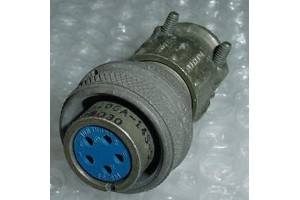 MS3106A-14S-5SC, Amphenol Aircraft Cannon Plug Connector