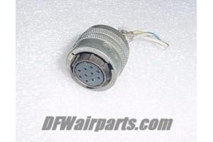 BP06P-12-10S, BP06P12-10S, Aircraft Avionics Connector Plug