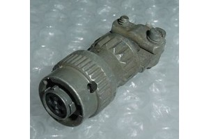 MS3116F8-4S, Bendix Aircraft Cannon Plug Connector