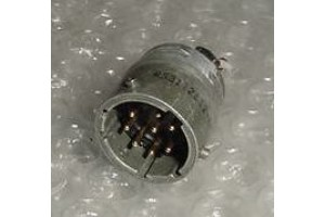 MS3112E12-8P, Aircraft Avionics Cannon Plug Receptacle
