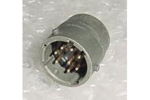 MS3112E12-8P, New Aircraft Avionics Cannon Plug Receptacle