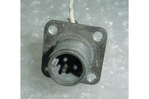 AN3102A-10SL-3P, Aircraft Cannon Plug Connector Receptacle