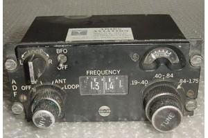 522-2357-014, 614L-8, Collins Aircraft ADF Control Panel