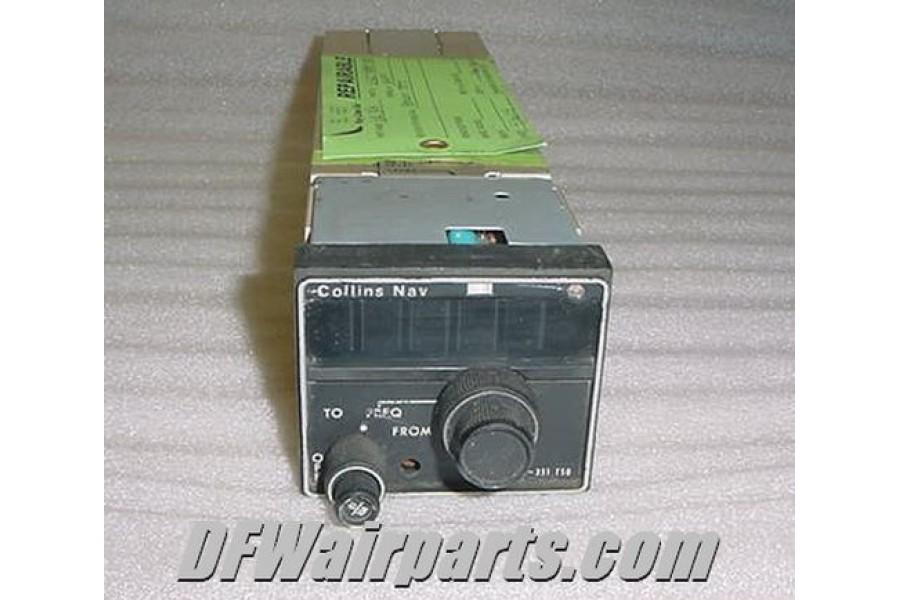 Collins TSO Nav Receiver Model VIR 351 P N 622 2080 001