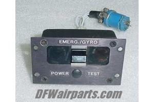 Emergency Gyro Cockpit Switch Panel / Display Indicator