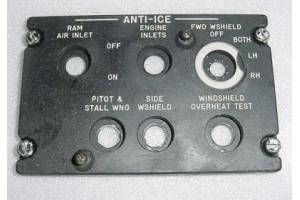 370-540280-61, Falcon 20 Aircraft Anti-Ice EL Lightplate Panel