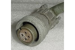 MS3106B14S-2S, Aircraft Instrument Cannon Plug Connector