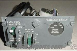 GU313-B1, GU-313-B1, Oxygen Supply Control Panel