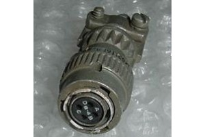 MS3116P8-4S, Bendix Aircraft Cannon Plug Connector