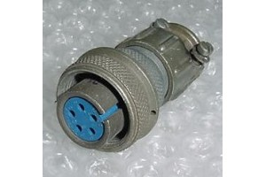 MS3106A14S-5SC, New Amphenol Aircraft Cannon Plug Connector