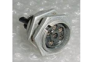 Aircraft Amphenol Avionics Plug Connector Receptacle