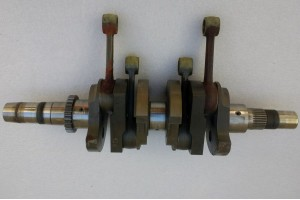 996583,, Rotax 912 / 914 Crankshaft w/ Connecting Rods