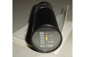 BTI600-105A, New, nos, Aircraft Battery Temperature Indicator