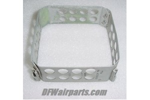 """123-4, 1234, 4"""" Aircraft Instrument Mounting Clamp Ring"""